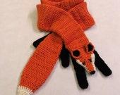 Fox scarf (faux stole)