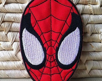 Spiderman  Applique Embroidery Fabric Iron on Patch Patches DIY Clothes Making