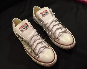 Spiked Converse Chuck Taylor Low Top Shoes