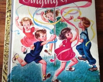 "LIttle Golden Book, Singing Games, 1947 ""C"" Edition"