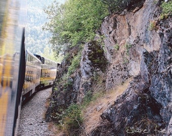 The Alaskan Railroad Photograph