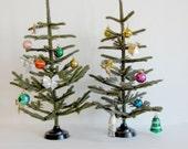 Vintage Christmas tree /antique Christmas tree ,Soviet vintage 50s