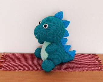 Amigurumi Crochet Pattern - Dinosaur  Pattern No.51