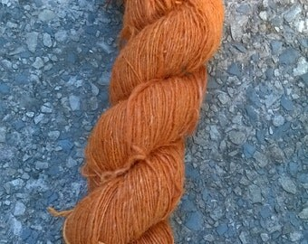 Organic Machine Spun Hemp Yarn - Orange
