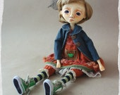 "OOAK Art doll ""Angelica ''"