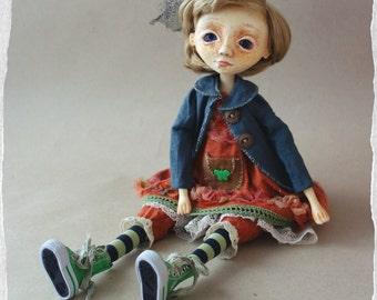 "OOAK Art doll ""Angelica ''"