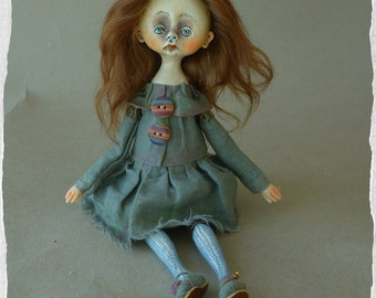 OOAK art doll Polina