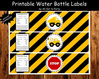 Water Bottle Tag Etsy