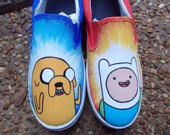 Adventure Time shoes (Men's/Children's Design)