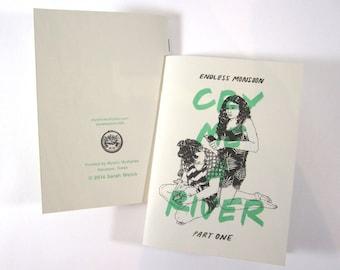 Cry Me A River Part I Risograph Comic Book