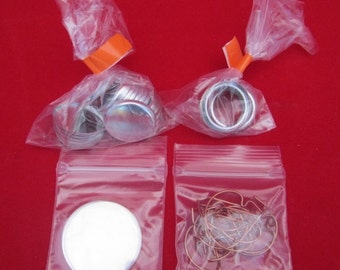 """500 pcs 1"""" inch Tecre Complete Pinback Button Badge Machine Parts Set"""