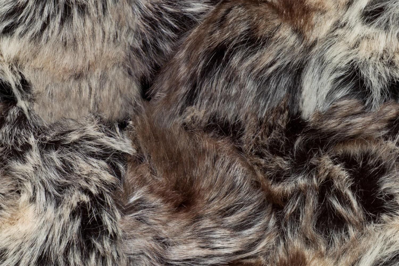 Wolf Fur Look Print Digital Cotton Print By Thefabricshopuk