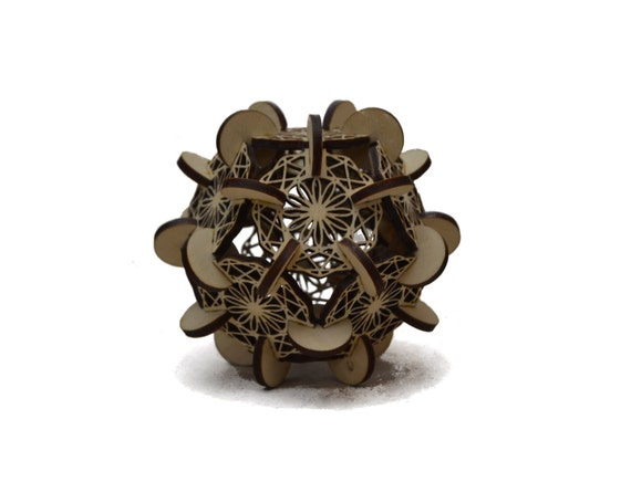 how to make a dodecahedron out of wood