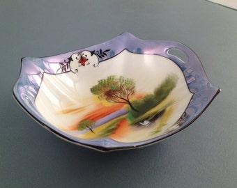 Noritake handpainted bowl