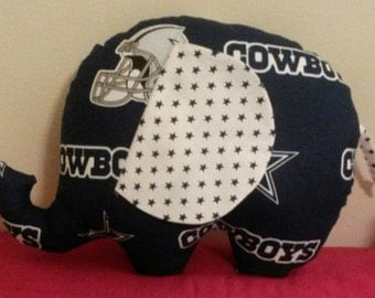 Dallas Cowboys Elephant Baby Toy