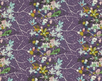 SALE!! 1/2 Yard - Botanica - Painting - Deep - Felicity Miller - FreeSpirit - Fabric Yardage - PWFM038
