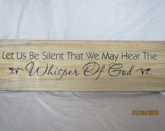 Decorative sign, Inspirational sayings, Religious sign