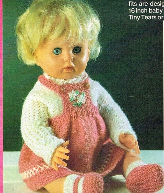 Colorful Knitting Patterns For Tiny Tears Dolls Free Inspiration