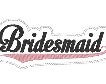 Bridesmaid Headband Slider design Instant Download