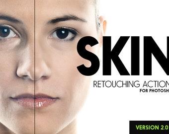 Skin 2.0 - 25 Retouching Actions