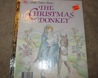 A Golden Book The Christmas Donkey