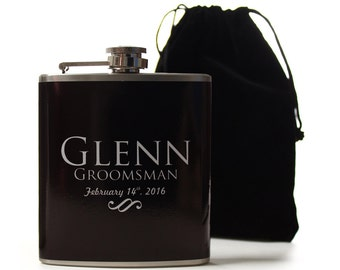 Flasks for Your Groomsmen, Custom Flasks for Your Wedding Party