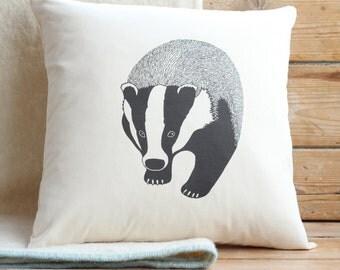 Badger Cushion Cover