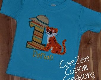 Safari Theme Birthday Onesie/Shirt