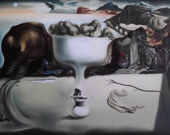"Salvador Dalí - Reproduction painting oil painting on canvas 36""X48"""