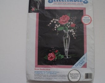 Embroidery kit Rose Perfection