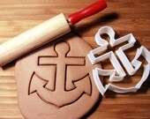 Nautical Boat Anchor Cookie Cutter Made to order J0108