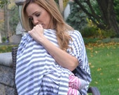 BEST SELLING COVER! 4 Sizes to Choose From! Multi Functional Nursing Cover- Scarf, Poncho, Car Seat Cover, Stroller Cover