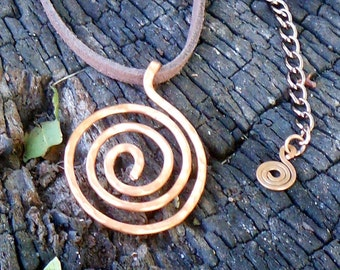 The Spiral Way Necklace
