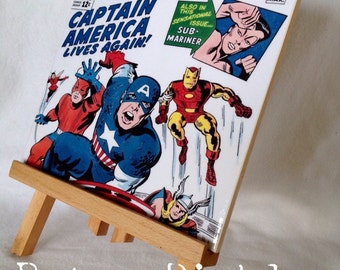 Avengers Ceramic Tile Wall Plaque