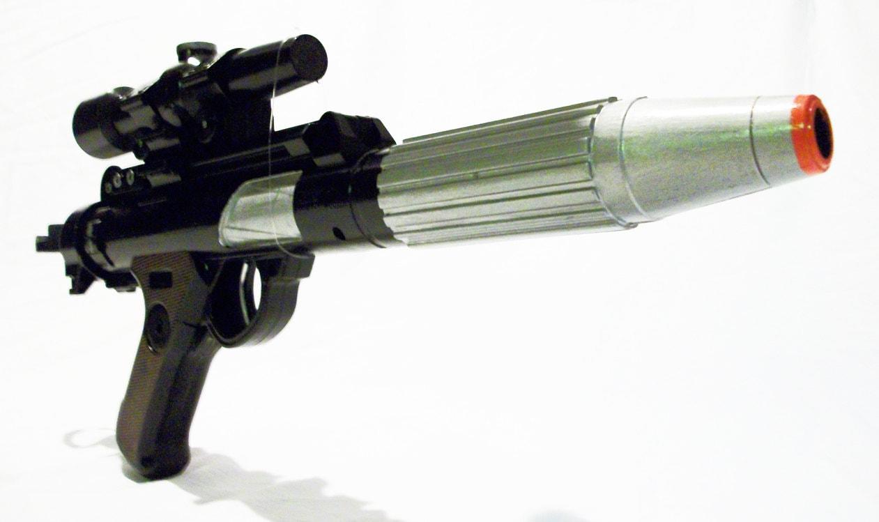 Star Wars Rebel Trooper Imperial Blaster Weapon Disney Cosplay