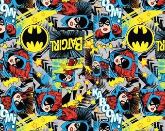 Batgirl - Girl Power Fabric