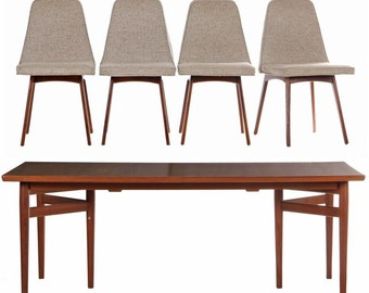 Sibast Dining Room Table and 4 Chairs