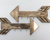 Wooden Arrow Key Ring Organizer/Hanger