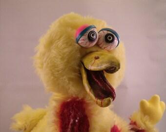 Big Bird Zombie Plush