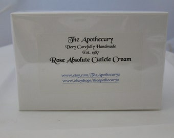 Aromatherapy ROSE Absolute Cuticle Cream The Apothecary