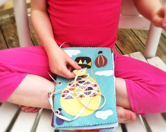 Ada's Quiet Book - DIY Pattern * Quiet Book Pattern * Toy Pattern * Heirloom Toy * Felt Book