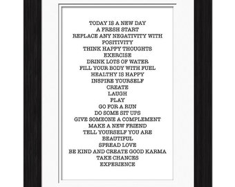 A New Day Affirmation