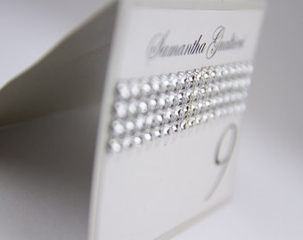 Place cards, Name card, Table card, Table seating,Crystal card, Place seating, White card