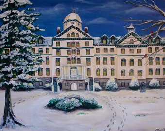 Custom Architectural Painting from Photograph