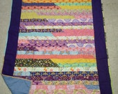 Jelly Roll Quilt - Twin sized