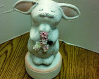 Happy Bunny Music Box