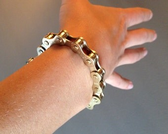Bicycle-chain Bracelet - Gold
