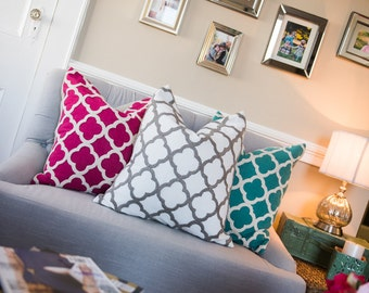 Pillow Covers | featured on Boho Style File