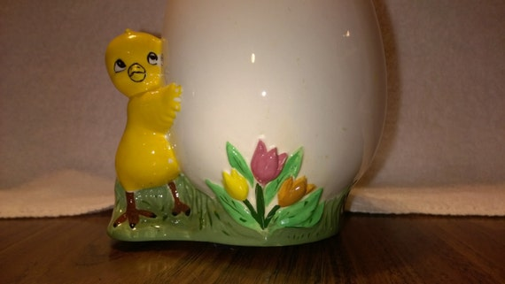 Vintage Easter Candy Dish