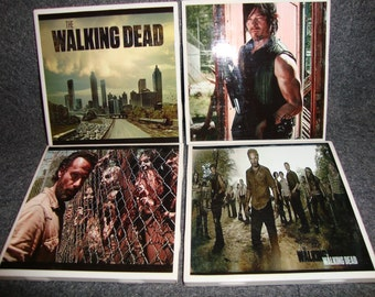 Walking Dead Coasters (set of 4 or 6)